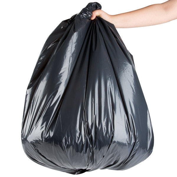 superior-equipment-supply - Interplast Packaging - Trash Liner 33 Gallon Heavy Black 30X36 - 250/Case