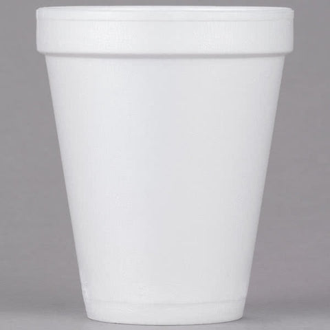 Dart White Foam Cup 10 oz. 10J10 - 1000/Case