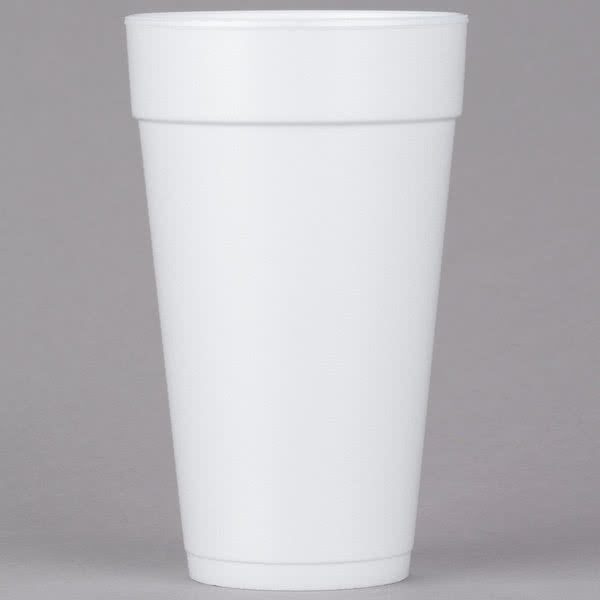 Dart White Foam Cup White 20 oz. 20J16 - 500/Case