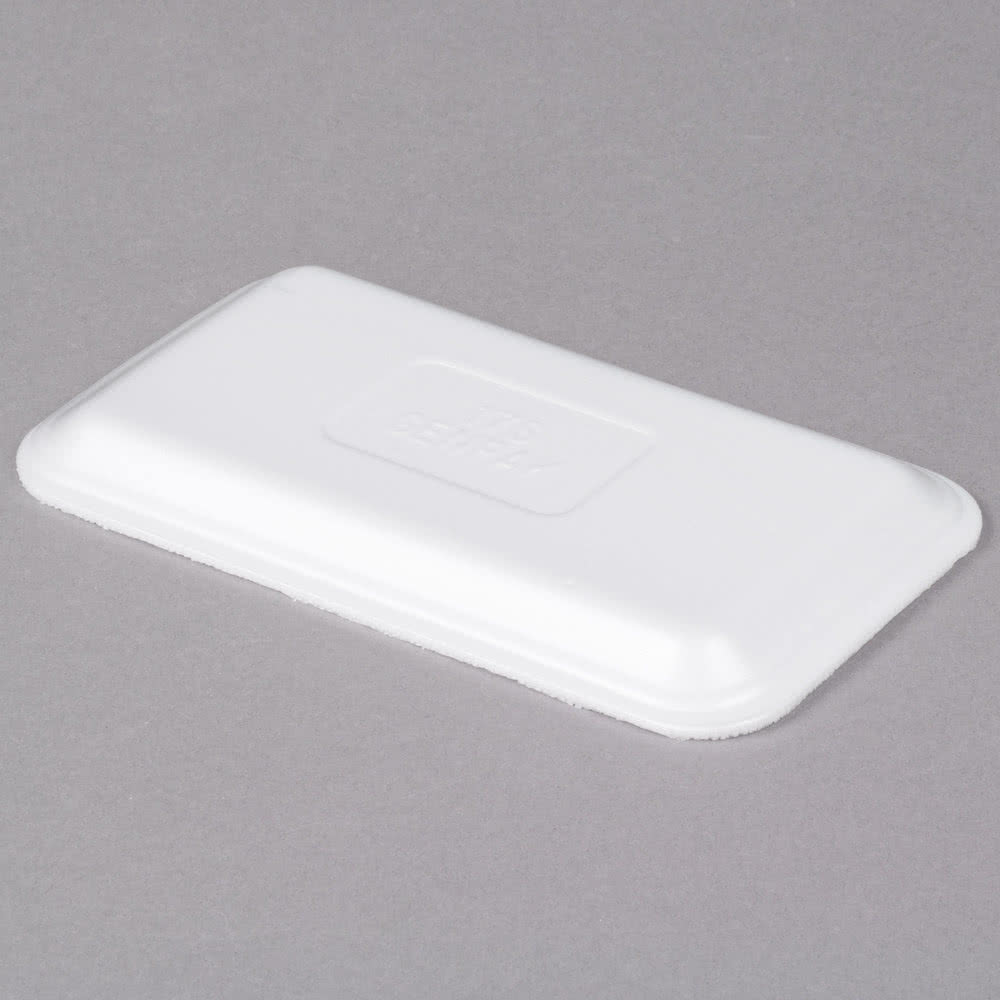 superior-equipment-supply - CKF Packaging - CKF Packaging Meat Foam Tray White 17S - 1000/Case