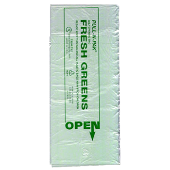 "superior-equipment-supply - Crown Poly Bags - Crown Poly Bags Green Pull 'N Pack Bags 16"" X 28"" Low Density - 1900/Case"