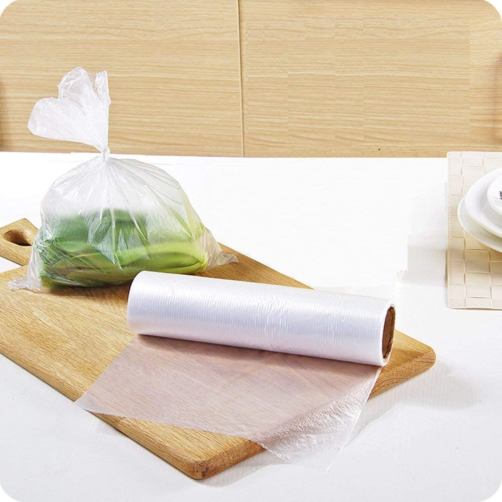"Produce Roll Bag Clear 12"" X 20"" - 4/Case"