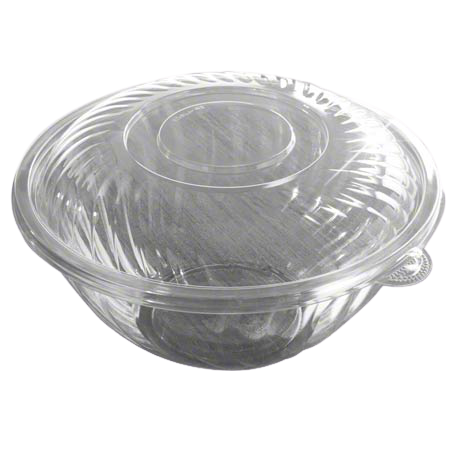 EMI Clear Salad Bowl Lid For 160 oz. Bowl - 25/Case