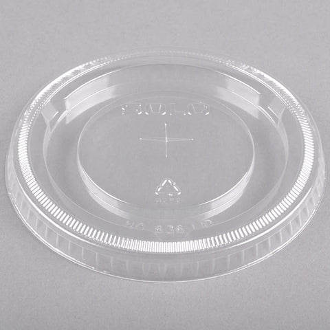 superior-equipment-supply - Solo - Solo Clear Cup Lid With Straw Slot  For 32 oz. Cup 636TS - 500/Case