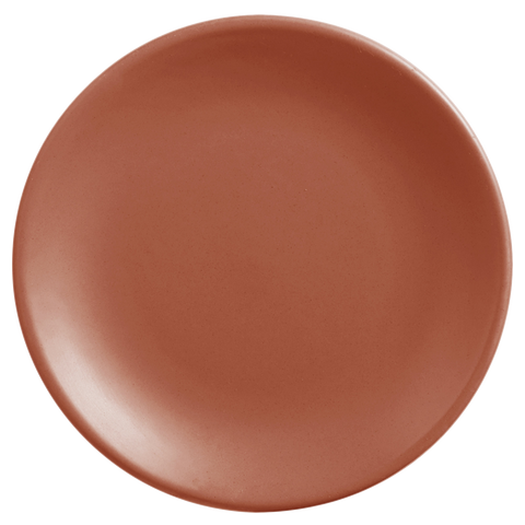 "World Tableware Driftstone Coupe Plate Clay Porcelain 6"" Diameter - 12/Dozen"