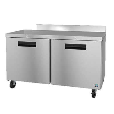 superior-equipment-supply - Hoshizaki - Hoshizaki Two Section Reach-In Stainless Steel Worktop Freezer