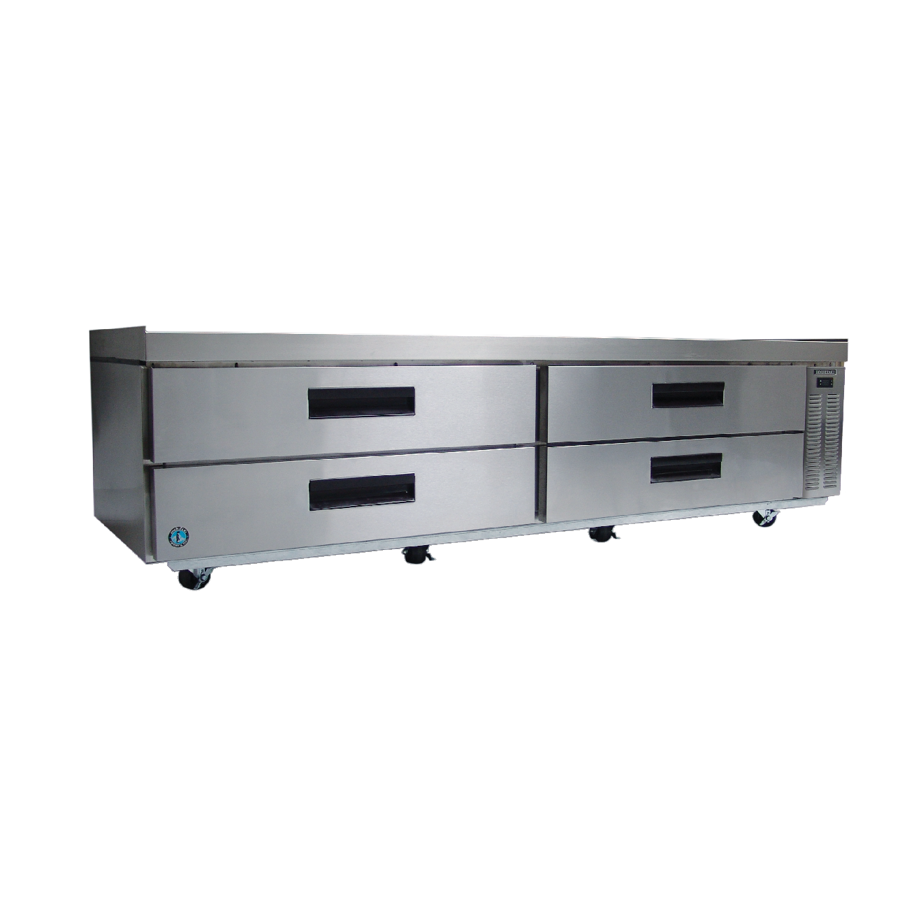"superior-equipment-supply - Hoshizaki - Hoshizaki Stainless Steel 98"" Wide Equipment Stand With Refrigerator"