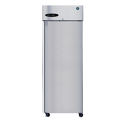 "Hoshizaki Stainless Steel 27.5"" Wide Reach In Refrigerator Left Hinged Door"
