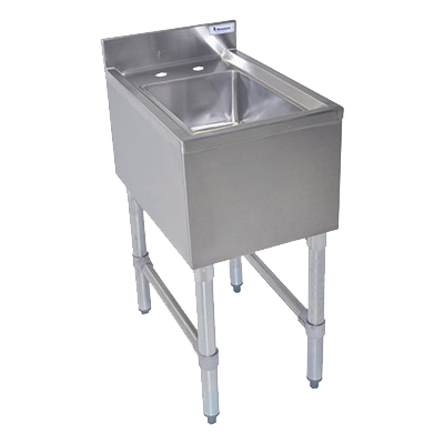 "superior-equipment-supply - BK Resources - BK Resources Underbar Hand Sink 14-1/2""W x 21-1/4""D x 32-1/2""H, Stainless Steel"