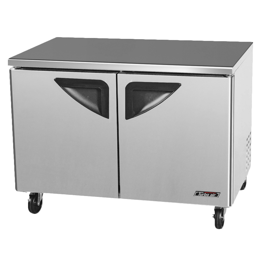 "superior-equipment-supply - Turbo Air - Turbo Air Two-Section 48.25"" Undercounter Freezer"
