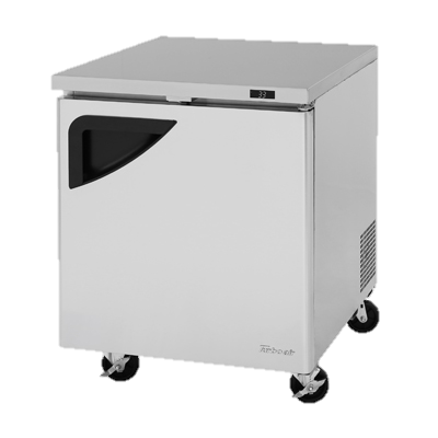 "Turbo Air One-Section 27.5"" Undercounter Refrigerator"