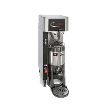 Grindmaster Cecilware Shuttle Coffee Brewer 2.0, Single Brewer for 1.5-Gallon Shuttle® (VS-1.5S, Vacuum-Insulated) or 3.0 L Airpots