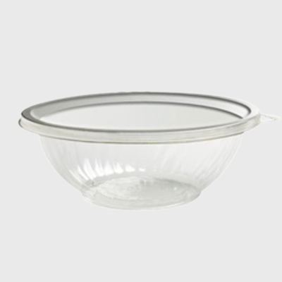 Clear PET Plastic 320 oz. Salad Bowl EMI-PTB320-16C - 25/Case