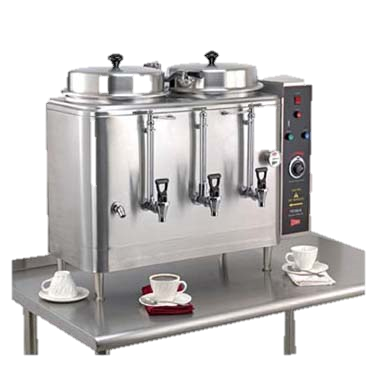 superior-equipment-supply - Grindmaster Cecilware - Grindmaster Cecilware Coffee Brewer Urn, Double, Electric, (2) 3 Gallon Capacity Tanks