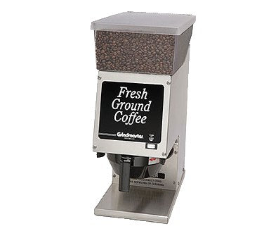 Grindmaster Cecilware Coffee Grinder 100 Series Food Service Coffee Grinder, Single Portion, 6 Lb Hopper