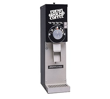 "Grindmaster Cecilware Coffee Grinder 800 Series, 7"" Wide Space Saver, (1) 5 Lbs Hopper"