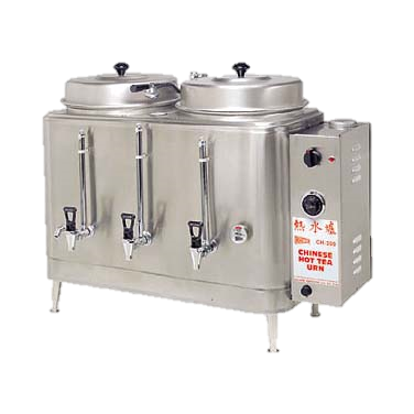 superior-equipment-supply - Grindmaster Cecilware - Grindmaster Cecilware Coffee/Hot Tea Brewer/Urn Double, Electric (2) 3 Gallon Capacity Liners