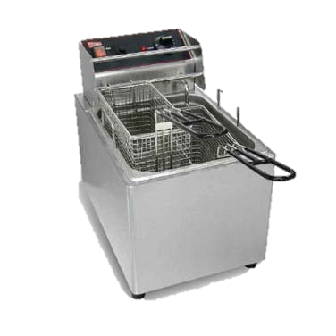 Grindmaster Cecilware Electric Full Pot 15 lbs. Capacity Countertop Fryer