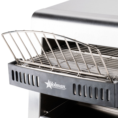 "superior-equipment-supply - Star Manufacturing - Star Stainless Steel 10"" Width Electric Horizontal Conveyor Toaster"