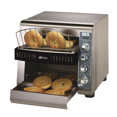 "Star Stainless Steel 10"" Width Electric Horizontal Conveyor Toaster"
