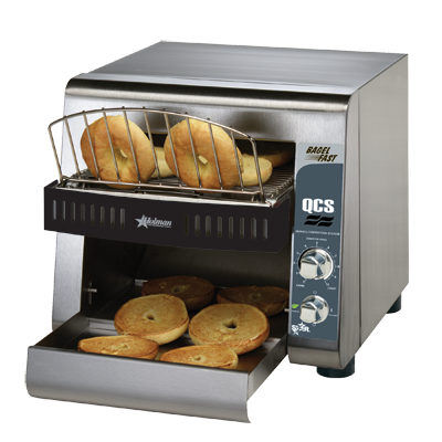 superior-equipment-supply - Star Manufacturing - Star Stainless Steel Electric 500 Slice/Hour Horizontal Conveyor Toaster Oven