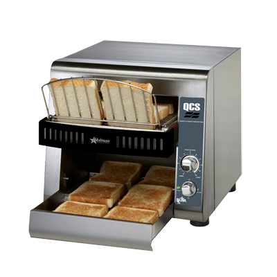 superior-equipment-supply - Star Manufacturing - Star Stainless Steel Electric 350 Slice/Hour Horizontal Conveyor Toaster Oven