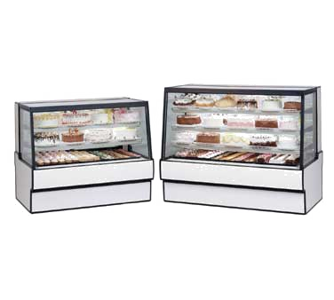 "superior-equipment-supply - Federal Industries - Federal Industries High Volume Refrigerated Bakery Display Case 77""W x 35""D x 42""H"