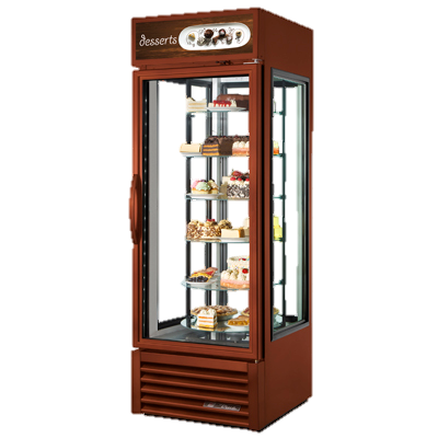 superior-equipment-supply - True Food Service Equipment - True Glass Side Reach-In One Section Specialty Display Case