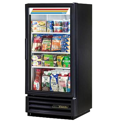 superior-equipment-supply - True Food Service Equipment - True One-Section Powder Coated Exterior Refrigerated Merchandiser