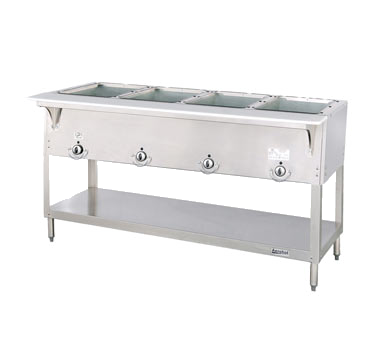 superior-equipment-supply - Duke Manufacturing - Duke Stainless Steel Electric Four Well Hot Food Counter
