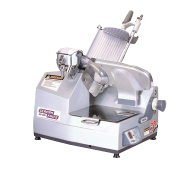 "superior-equipment-supply - Turbo Air - Turbo Air German Knife Automatic Gear Driven Food Slicer With 12"" Blade"