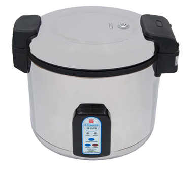 Town RiceMaster Stainless Steel Electric Rice Cooker/Holder 30 Cup Uncooked Rice Capacity