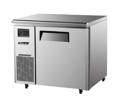 "superior-equipment-supply - Turbo Air - Stainless Steel 35"" Wide  One-Section Undercounter Refrigerator"