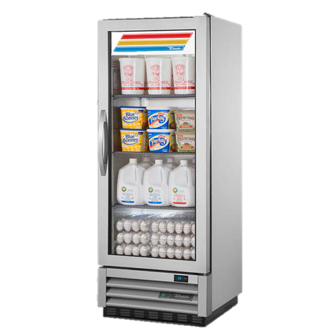 superior-equipment-supply - True Food Service Equipment - True Glass Door One Section Reach In Refrigerator