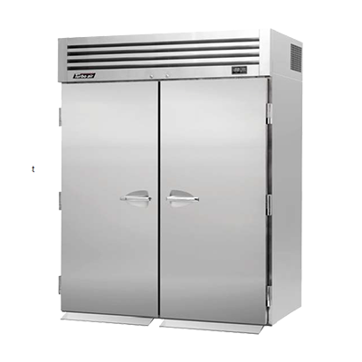 "superior-equipment-supply - Turbo Air - Turbo Air Stainless Steel Two-Section 67"" Wide Roll-In Refrigerator"