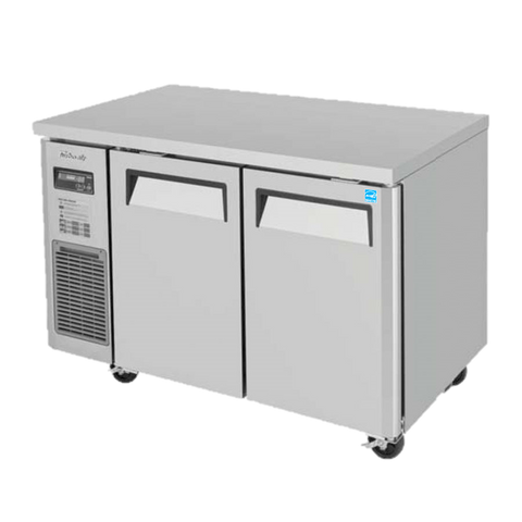 "superior-equipment-supply - Turbo Air - Turbo Air Stainless Steel 47"" Wide Two-Section Narrow Undercounter Refrigerator"