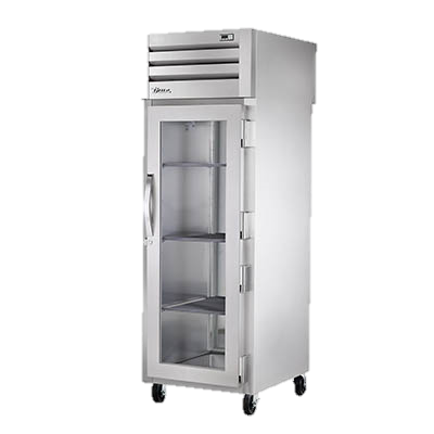 superior-equipment-supply - True Food Service Equipment - True Stainless Steel Glass Door One Section Pass-Thru Refrigerator