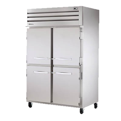 superior-equipment-supply - True Food Service Equipment - True Stainless Steel Two-Section Four Half Door Reach-In Freezer