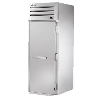 "superior-equipment-supply - True Food Service Equipment - True Stainless Steel One-Section One Door Roll-In Refrigerator 83-3/4""H"