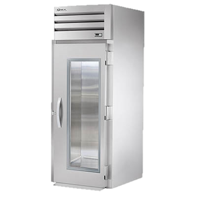 superior-equipment-supply - True Food Service Equipment - True Stainless Steel One-Section One Glass Door Roll-In Refrigerator