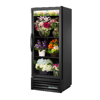 superior-equipment-supply - True Food Service Equipment - True One-Section Laminated Vinyl Exterior Floral Merchandiser