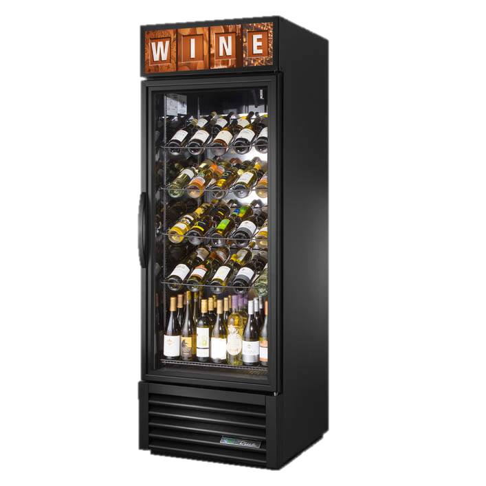 superior-equipment-supply - True Food Service Equipment - True One-Section Powder Coated Exterior Wine Merchandiser