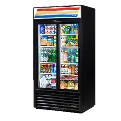 superior-equipment-supply - True Food Service Equipment - True Two-Section Eight Shelf Powder Coated Exterior Refrigerated Merchandiser