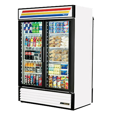superior-equipment-supply - True Food Service Equipment - True Two-Section Eight Powder Coated Exterior Refrigerated Merchandiser
