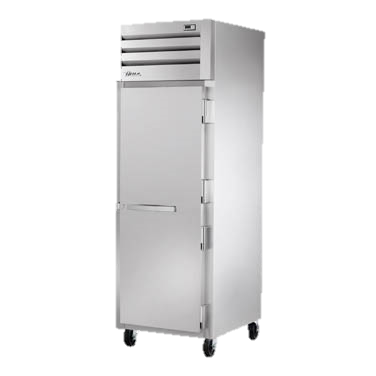 "superior-equipment-supply - True Food Service Equipment - True Stainless Steel One-Section One Door Reach-In Freezer 27.5""W"