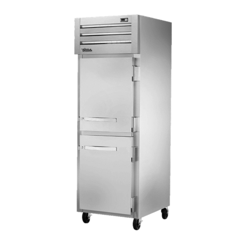 superior-equipment-supply - True Food Service Equipment - True One Section Two Stainless Steel Half Door Reach-In Freezer