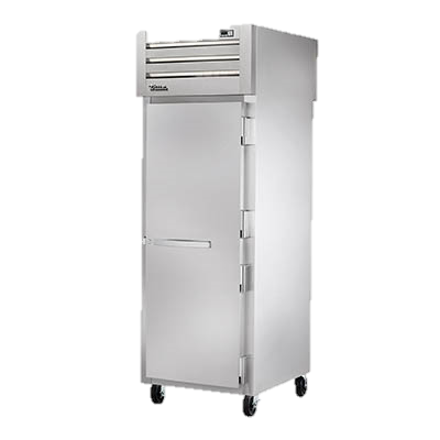 superior-equipment-supply - True Food Service Equipment - True Stainless Steel One Section One Solid Door Pass-Thru Freezer