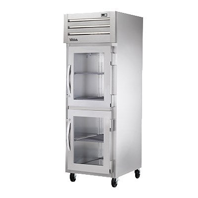 superior-equipment-supply - True Food Service Equipment - True One Section Two Glass Half Door Reach-In Heated Cabinet
