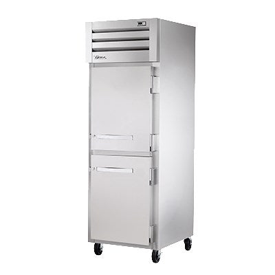superior-equipment-supply - True Food Service Equipment - True One Section Two Stainless Steel Half Door Reach-In Heated Cabinet