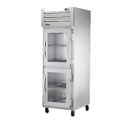 superior-equipment-supply - True Food Service Equipment - True One Section Two Glass Half Door Reach-In Refrigerator